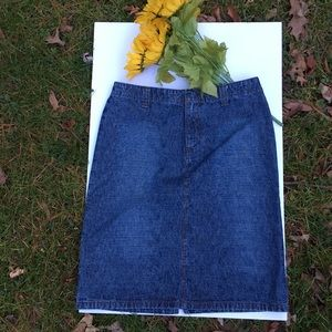 NWOT DKNY Denim Pencil Skirt